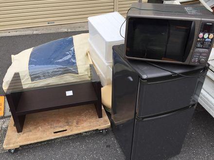文京区大塚の家財処分事例