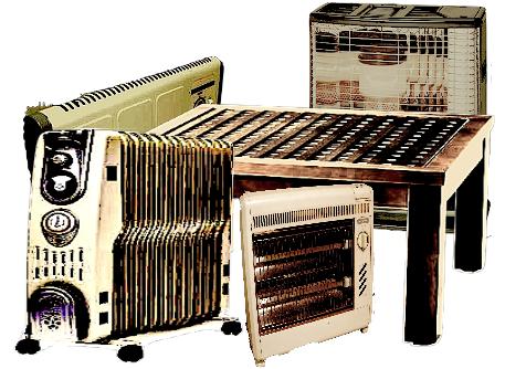 暖房機器の回収