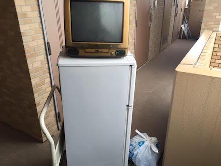 文京区向丘での冷蔵庫とパソコン回収事例