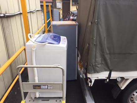 how to throw away refrigerator and washing machine in ueno