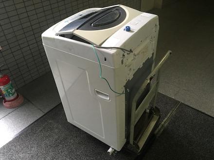 文京区白山での洗濯機回収事例