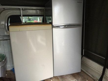 文京区本郷での冷蔵庫洗濯機回収処分