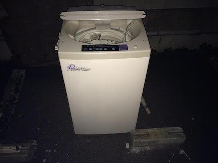 文京区本駒込にて回収させて頂いた洗濯機