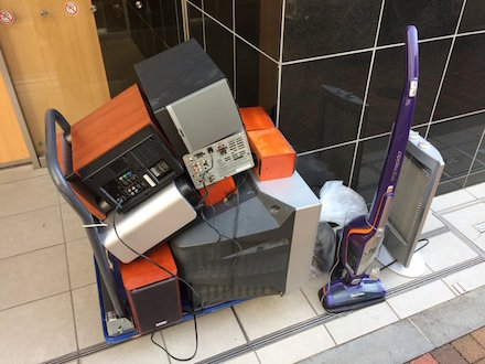 台東区での家電回収事例