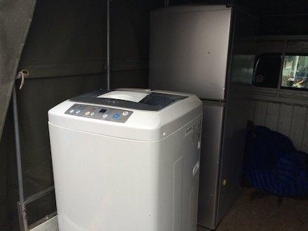 冷蔵庫と洗濯機の回収事例